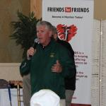 Wolfie Carroll addresses FfF golfers