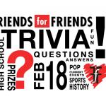 Friends for Friends Trivia Night