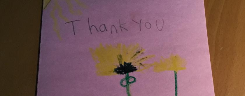 Thank You from Jayla