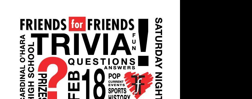 Friends for Friends Trivia Night