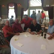Betzler's round table at the 2017 FfF golf outing